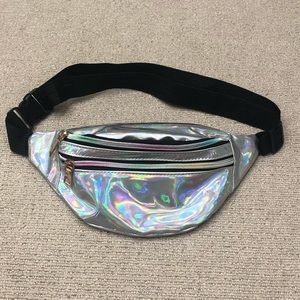 Handbags - Holographic Fanny Pack! Water Proof ☔️